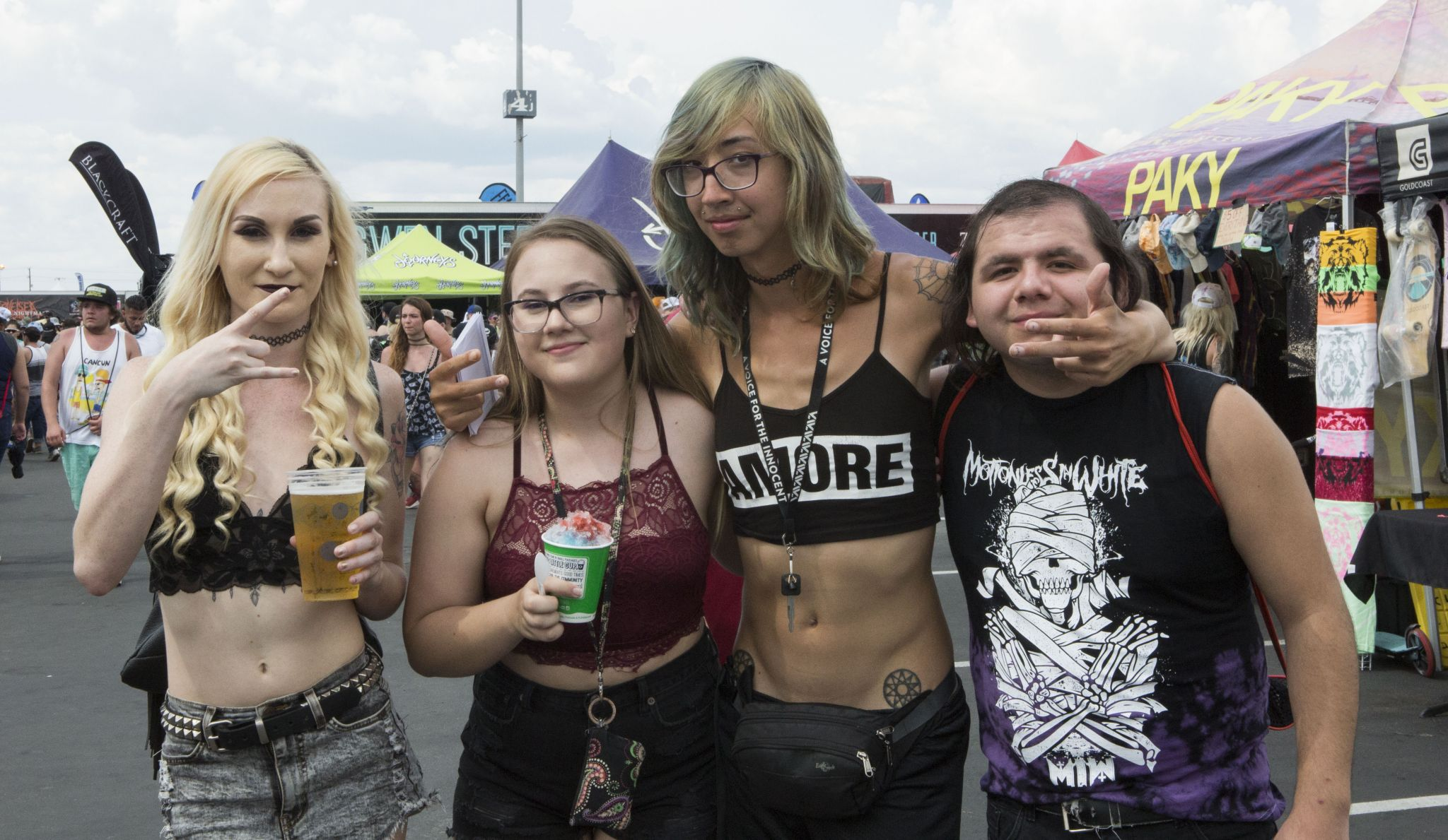 Warped Tour 2020 Bands.San Antonio Fans Party Hearty For The Final Warped Tour