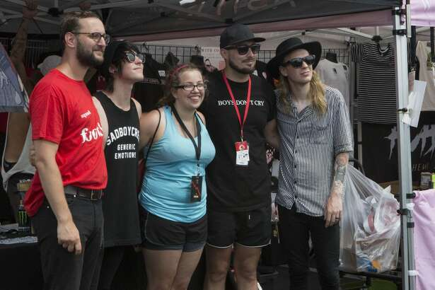 San Antonio punks came together one last time for Warped Tour on July 7, 2018. After 24 years, the famed pop-punk festival is ending.