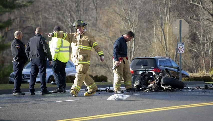 7. Route 104/Long Ridge Road Accidents in 2018: 38 Accidents in 2017: 115 Percentage of decrease in 2018: 67% Source: UConn Connecticut Crash Data Repository