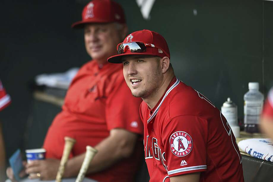 Angels' Mike Trout has 25 home runs and 50 RBIs. Photo: Gail Burton / Associated Press
