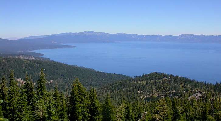 The top of 8,740-foot Ellis Peak, located out of Blackwood Canyon above Homewood, reveals a panorama of Lake Tahoe