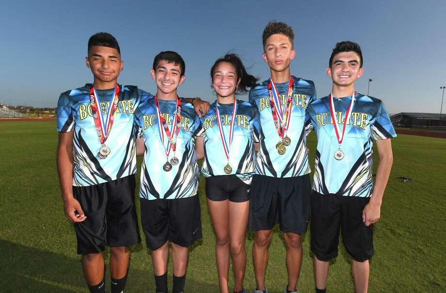 BC Elite has five members heading to the 52nd Annual AAU Junior Olympics July 29 at Drake University. Photo: Danny Zaragoza /Laredo Morning Times