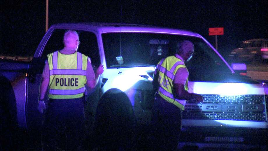 Authorities said a teenage driver didn't see the man and struck him at about 10:45 p.m. on the access road between Housman Road and Bandera Road. Photo: Ken Branca
