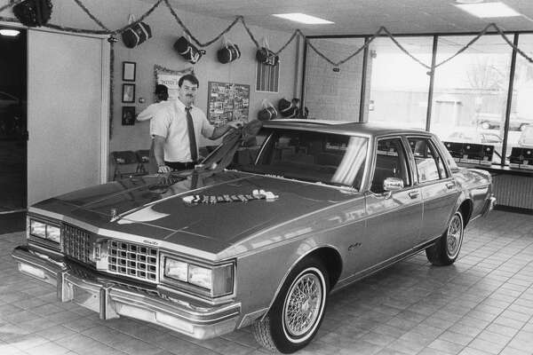 Dirk A. Waltz, grandson of the founder of Dirk Waltz Buick Oldsmobile Jeep Inc., is preparing to take over the reins of the family owned businesses. December 1987