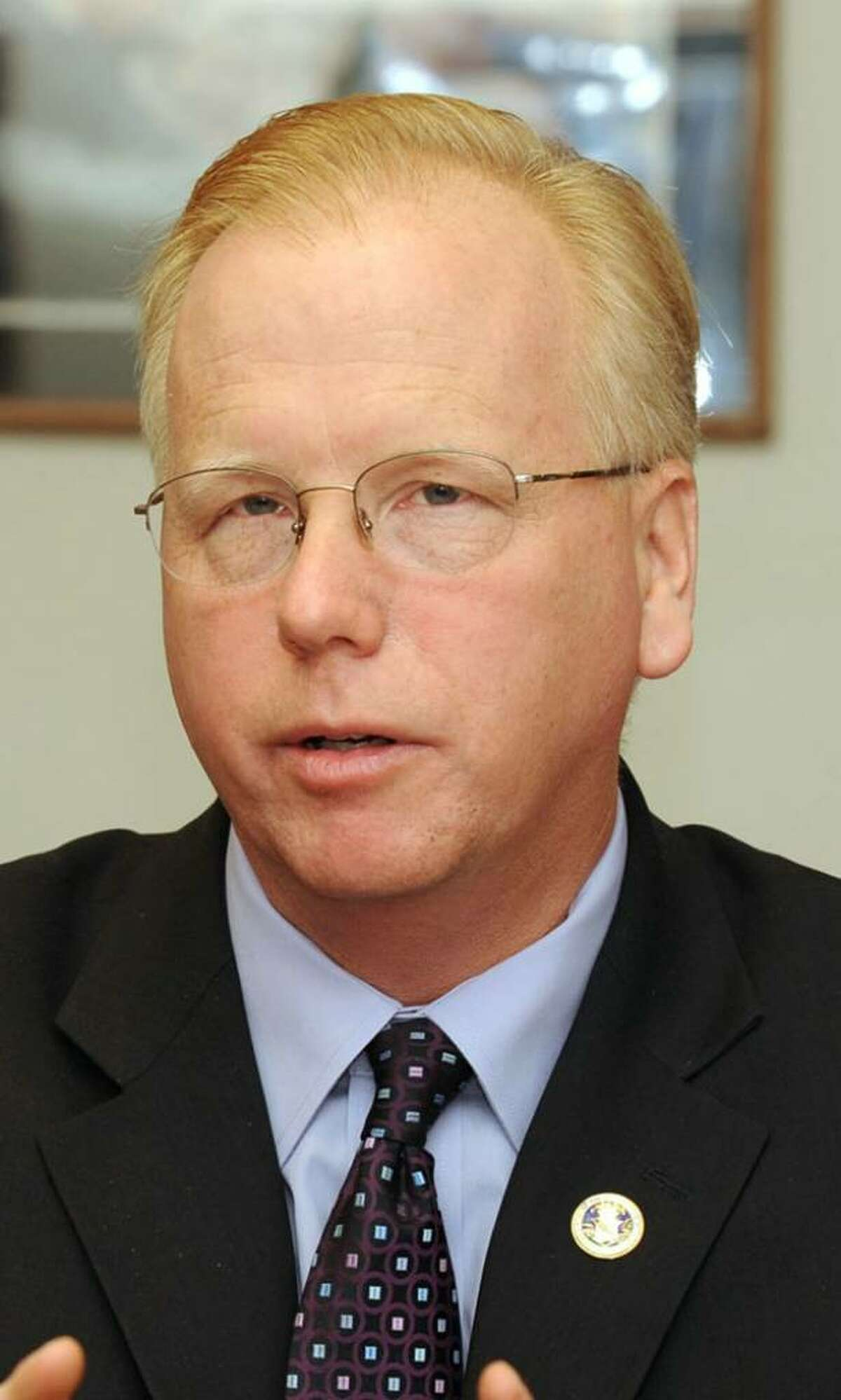 Mayor Mark Boughton of Danbury.