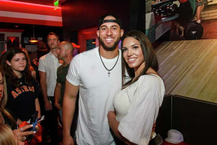 George and Charlise Springer at George's 4th annual All-Star Bowling Benefit.