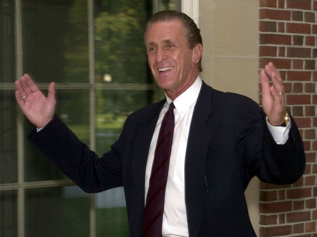 Pat Riley graduated from Linton High School in Schenectady, played college hoops at Kentucky and then went on to play nine seasons in the NBA. But Riley is really known for his NBA coaching success, leading the