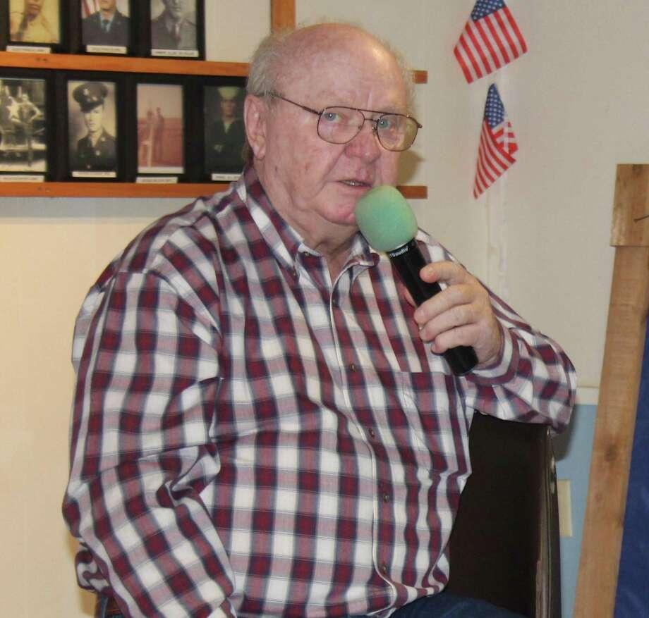 Ken Janik sings karaoke at the Coldspring Senior Center fundraiser held on July 7 at American Legion Post 629. Photo: Jacob McAdams / HCN