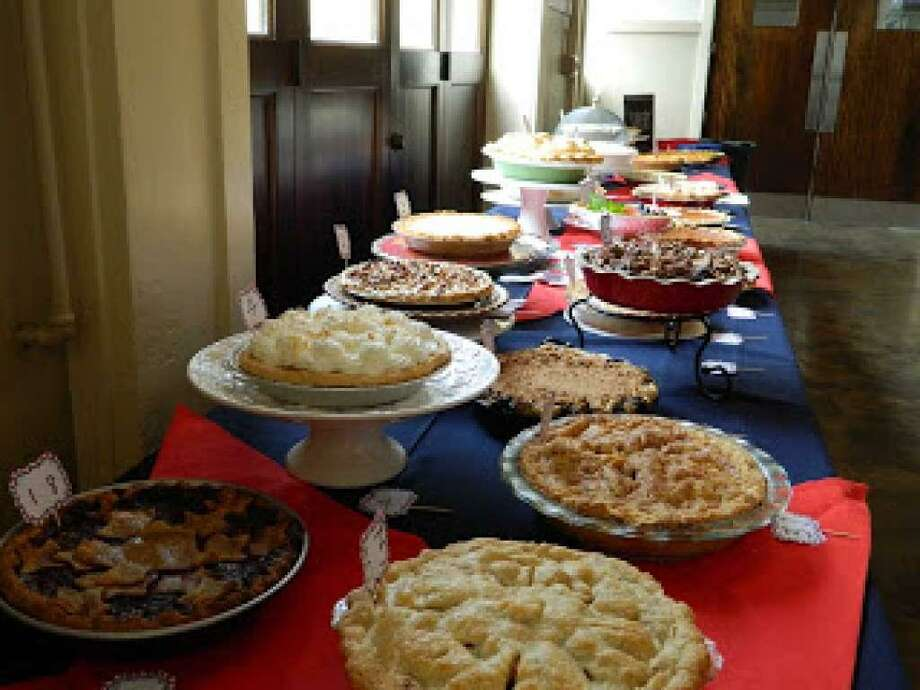 At least 35 pies were entered into the 2017 Great American Heights Pie Contest at Historic Heights Fire Station on 12th Street in July.