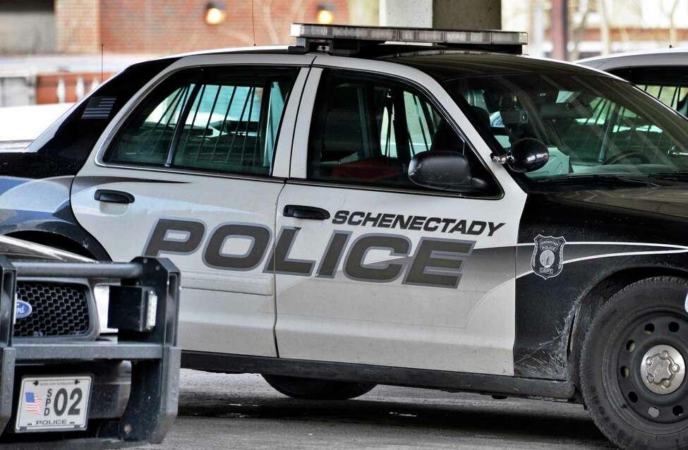Schenectady city police car. (John Carl D'Annibale / Times Union)
