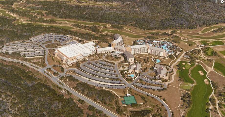 Blackstone, one of the world's largest private equity firms, is in talks to buy the JW Marriott San Antonio Hill Country Resort & Spa, according to a source familiar with the negotiations. Photo: Google Maps