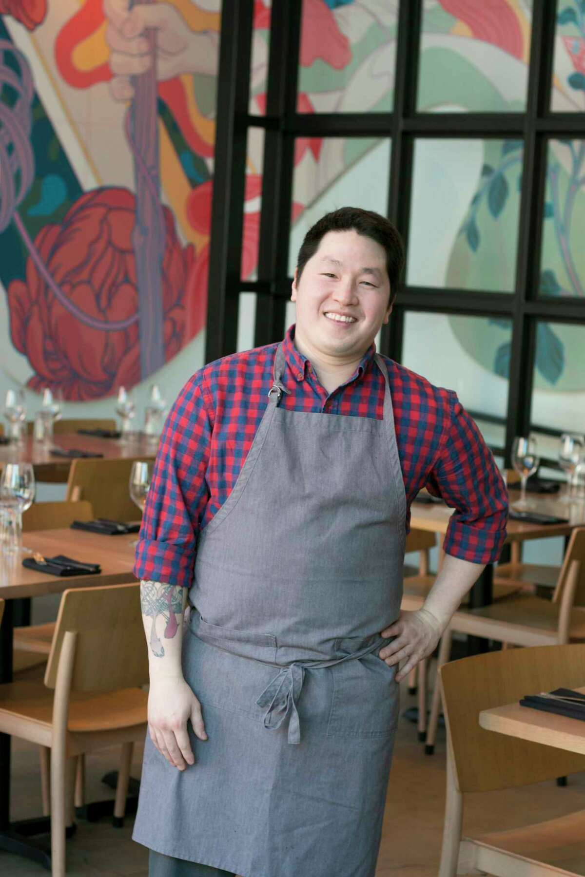 Tae Strain, executive chef of Momofuku CCDC in Washington, DC, has been added to the chef lineup for Southern Smoke 2018.