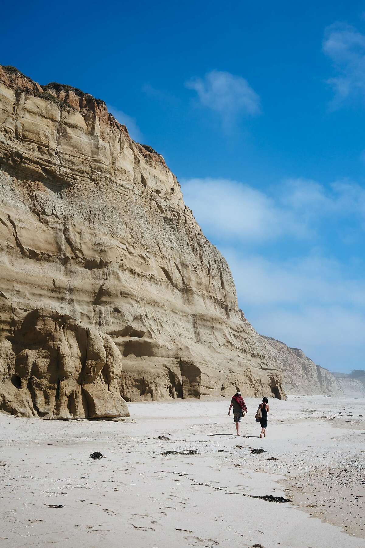 Long Gulch beach photographed in Half Moon Bay, Calif., on Friday, July 6, 2018.