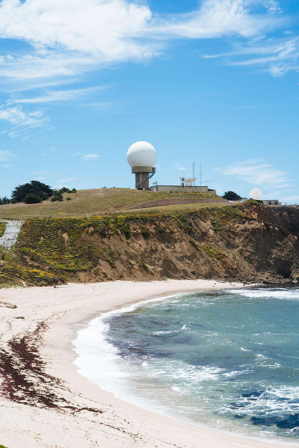 Ross�s Cove on Pillar Point photographed in Half Moon Bay, Calif., on Friday, July 6, 2018.