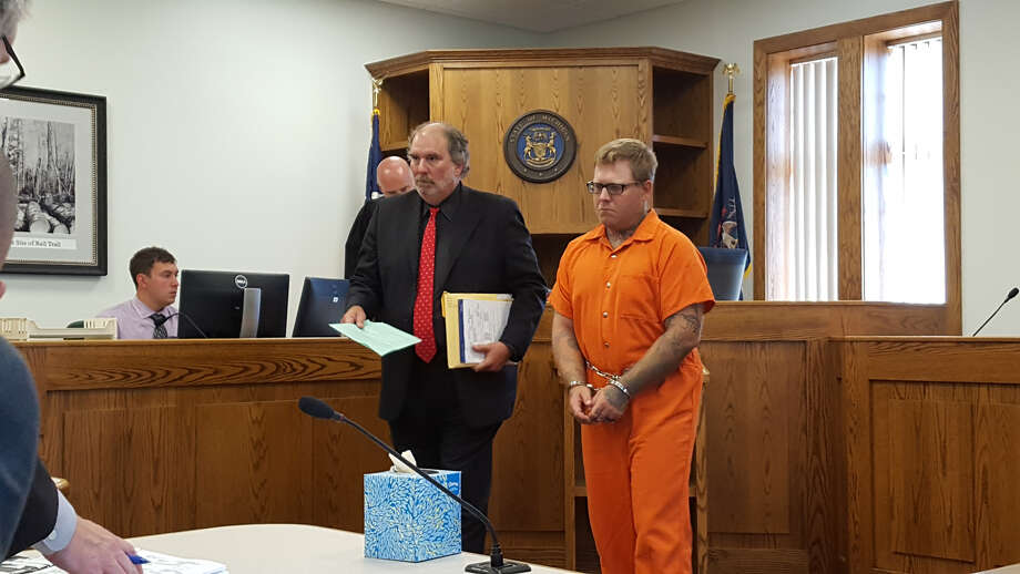 Joel Brandon Wallace was arraigned on multiple charges Monday in the Midland County District Court.