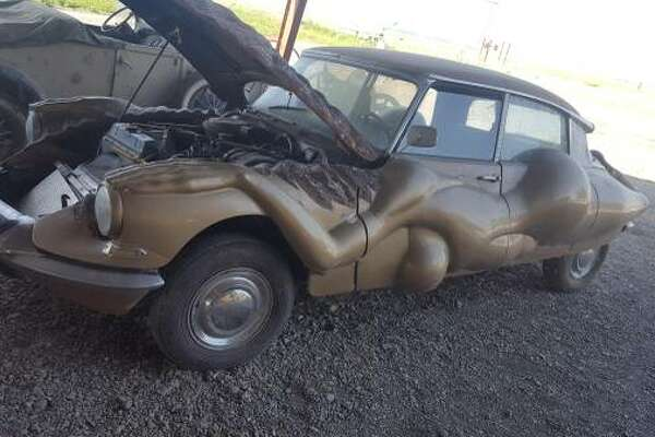Is this Craigslist naked-lady fetish-mobile the ugliest car