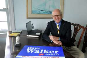 Dave Walker, a Republican candidate for governor, dropped out of the race after failing to win enough support at the May convention.