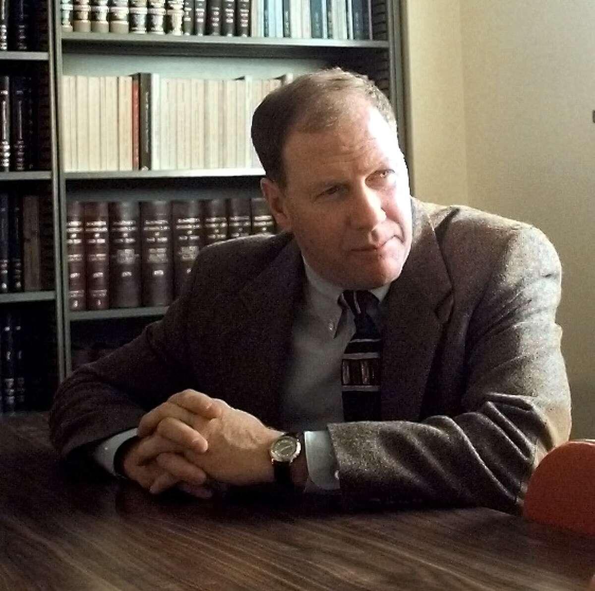 March 10, 1999 - Senior Investigator Jim Horton of Troop G, Loudonville. (Times Union photo by Paul D. Kniskern, Sr.)