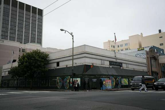 The former post office at 101 Hyde Street is slated to convert into a food incubator and culinary hall in San Francisco's Tenderloin district on Thursday, May 3, 2018.