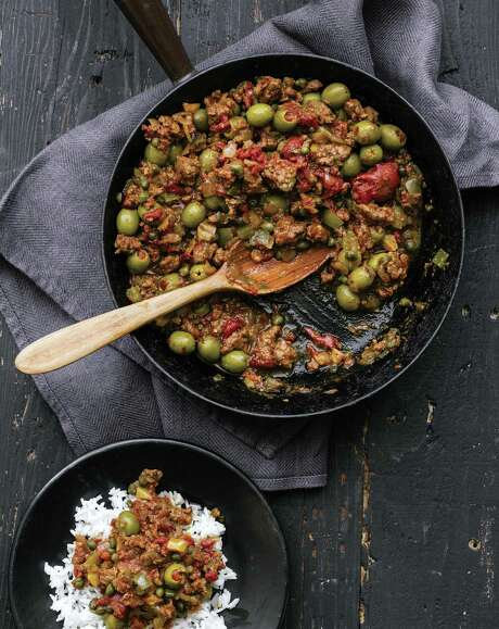 "Dad's Cuban Picadillo from ""The Family Table: Recipes & Moments from a Nomadic Life"" by Jazz Smollett-Warwell, Jake Smollett, Jurnee Smollett-Bell and Jussie Smollet. Photo: William Morrow / William Morrow"