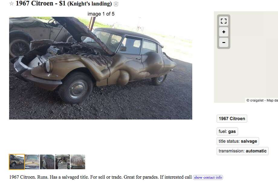 Is this Craigslist naked-lady fetish-mobile the ugliest ...