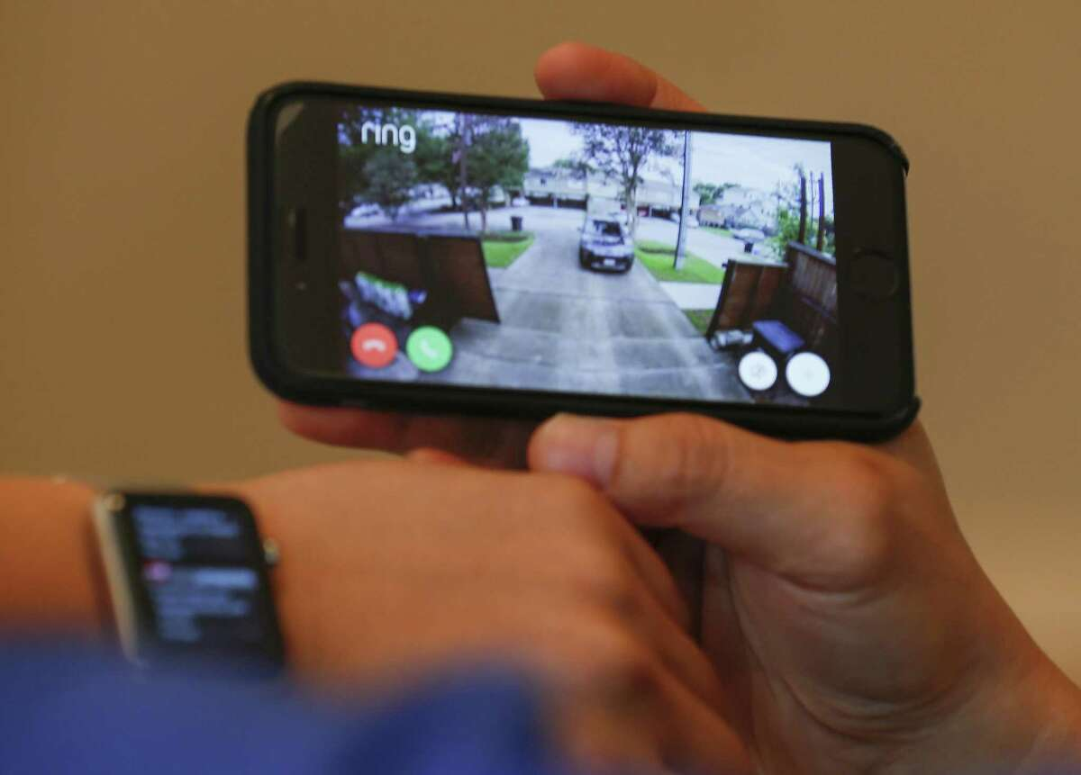 Improved technology lets you monitor what's happening at your home from your smart phone -- no matter where you are.
