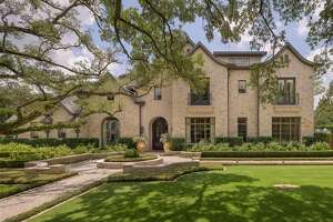 A French-style home listed in Houston for $9.3 million features everything from exquisite architecture to an outdoor paradise.