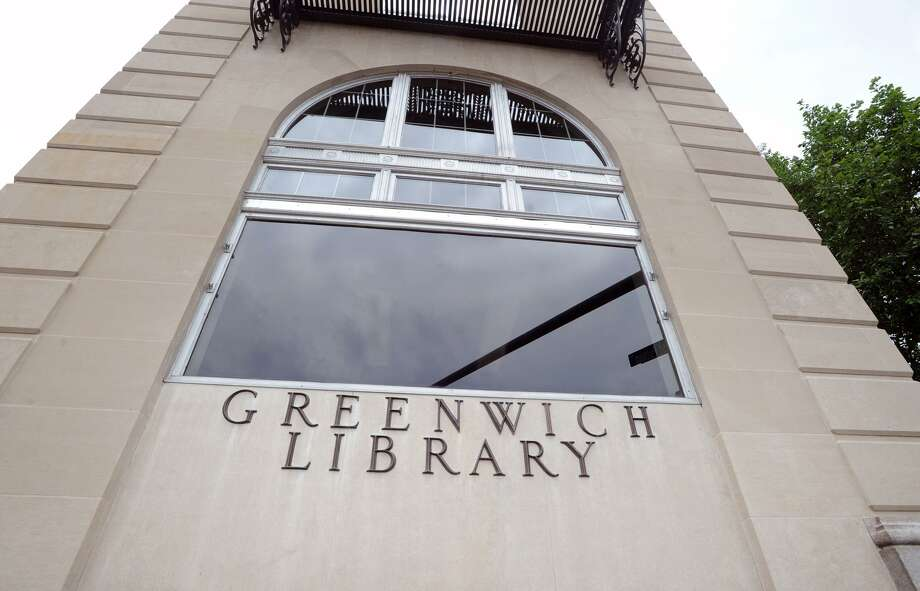 Exterior of Greenwich Library, Greenwich, Conn., Friday, June 22, 2018. Photo: Bob Luckey Jr. / Hearst Connecticut Media / Greenwich Time