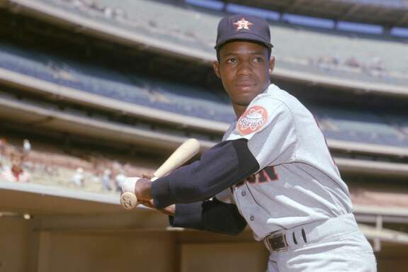 "Jimmy Wynn, better known as the ""Toy Cannon"" to Astros fans, made his major-league debut July 10, 1963 at Colt Stadium."
