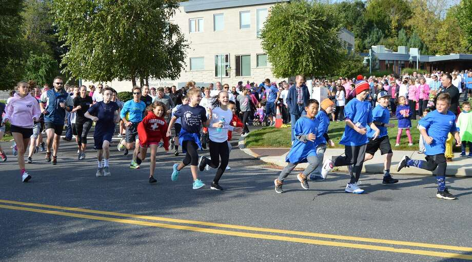 A scene from a previous Griffin Hospital annual 5K Photo: Contributed Photo / Griffin Hospital