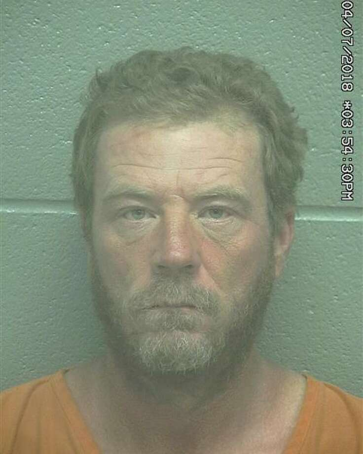 Timothy Lynn Cline, 43, was arrested July 3 after he allegedly displayed a firearm, according to court documents.   Photo: Midland County Sheriff's Office