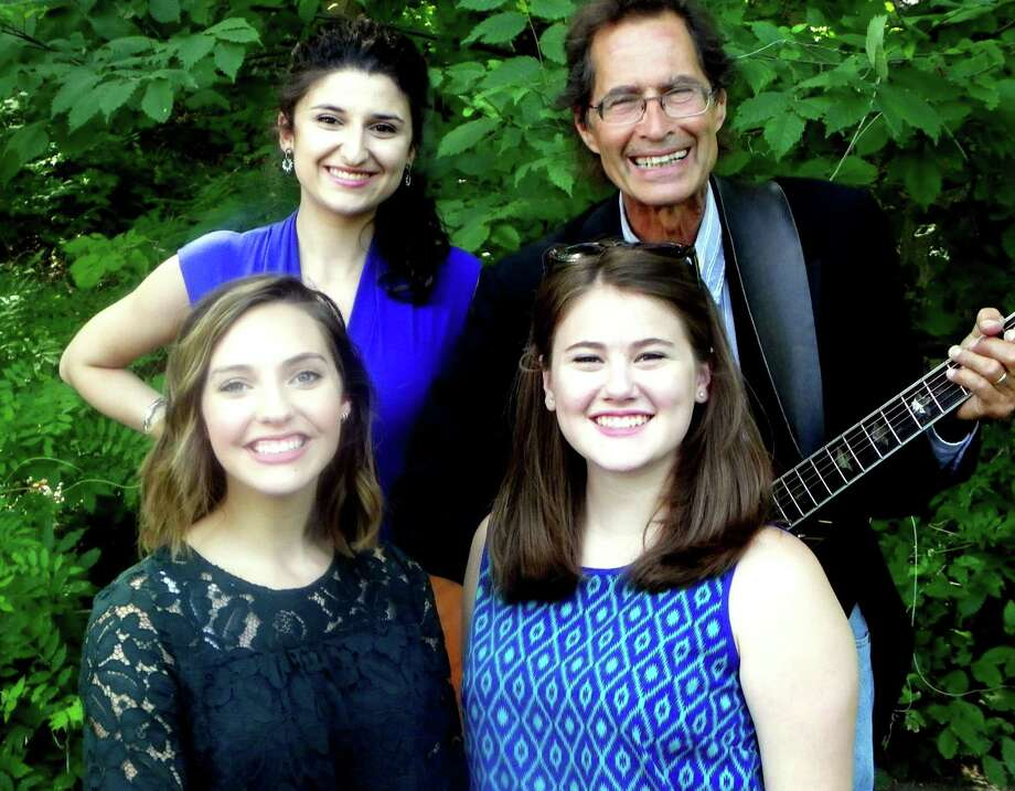 Singer Billy Michael and female vocalists Arianna Carlo, Anna Bishop and Maddy Oldham will perform at the Summer Patriotic Concert at the Brookfield Museum on Saturday. Photo: / Contributed Photo