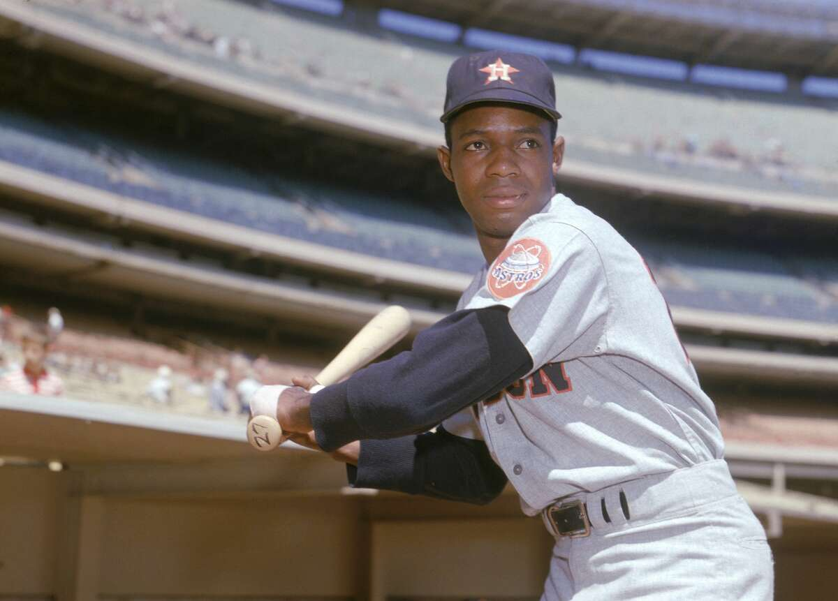 """Jimmy Wynn, who died Thursday, was one of the Astros' biggest stars during their early years. He earned the nickname """"The Toy Cannon"""" thanks to his prodigous power despite playing in the cavernous Astrodome."""