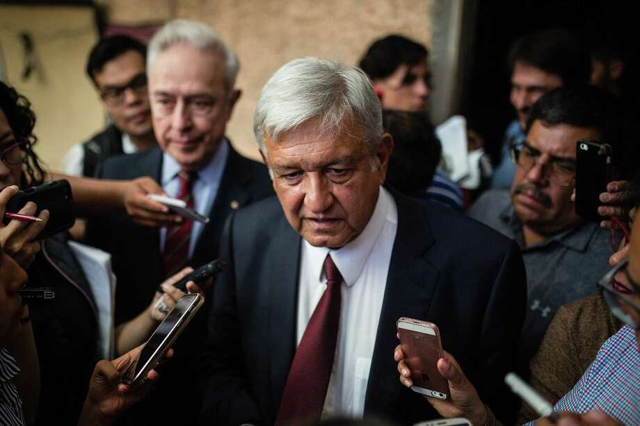 A reader asks if the president-elect of Mexico, Andrés Manuel López Obrador, is labeled a leftist because he wants to help the poor. Photo: Manuel Velasquez /Getty Images / 2018 Getty Images