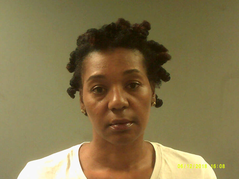Nikkita Chesne, 45, was pressed with four charges, including first-degree larceny, for her alleged role in a plan to steal more than $35,000 from a substance abuse treatment center in Bridgeport. Photo: Connecticut State Police