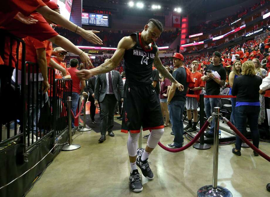Guard Gerald Green feels a special connection to his hometown, one of the main reasons he re-signed with the Rockets for $2.4 million on a one-year deal. Photo: Godofredo A. Vasquez, Houston Chronicle / Houston Chronicle / Godofredo A. Vasquez