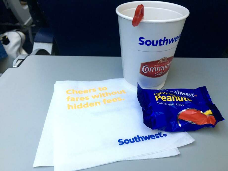 Southwest Airlines will stop serving peanuts on flights beginning August 1. Photo: Tim Jue