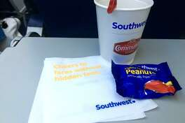 Southwest Airlines will stop serving peanuts on flights beginning August 1. (Photo: Tim Jue)