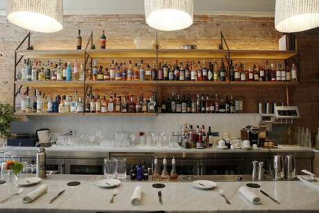 The bar at Nico, Friday, June 22, 2018, in San Francisco, Calif. The restaurant is located at 710 Montgomery Street.