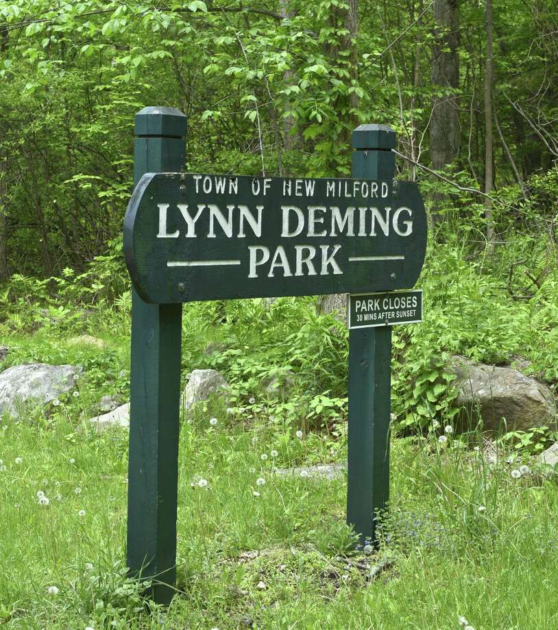 File photo of Lynn Deming Park, in New Milford, Conn. Photo: H John Voorhees III / Hearst Connecticut Media / The News-Times