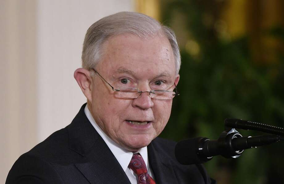 A judge rejected parts of a lawsuit U.S. Attorney General Jeff Sessions filed in March in an attempt to weaken California sanctuary laws. Photo: Olivier Douliery / TNS
