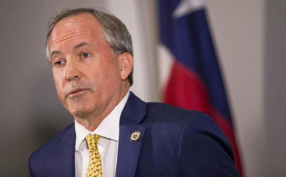In a letter to San Antonio Mayor Ron Nirenberg and the City Council, Texas Attorney General Ken Paxton seen in Austin on May 1, 2018, said state law gives municipalities no authority to impose a mandatory paid sick leave ordinance on all businesses. Photo: Nick Wagner /Associated Press / Austin American-Statesman