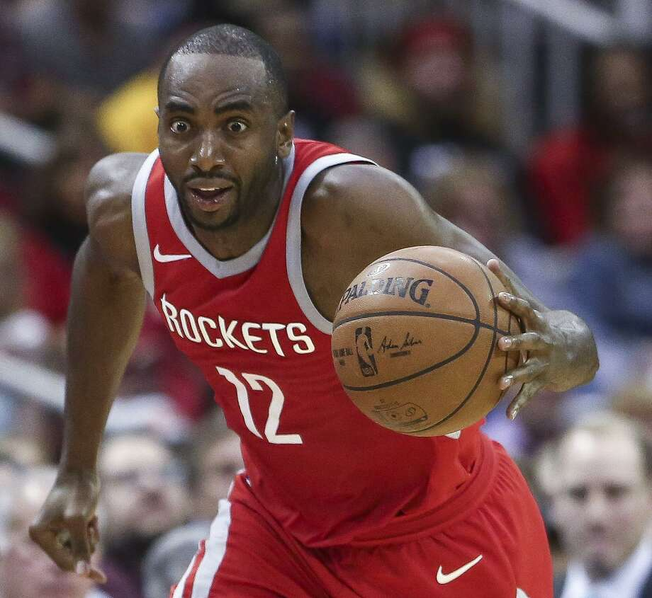 Rockets forward Luc Mbah a Moute agreed to a one-year deal to return to the Clippers. Photo: Michael Ciaglo, Houston Chronicle / Houston Chronicle / Michael Ciaglo