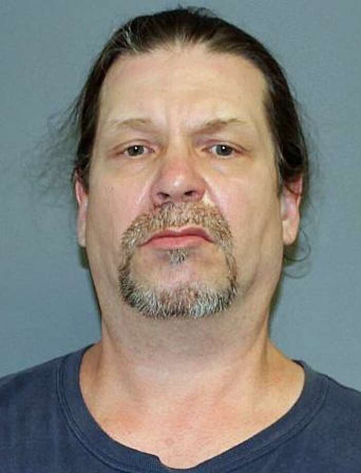 Fredrick Kushpinsky, 49, of Shelton, was arrested on four court warrants on Monday, July 9, 2018. Kushpinsky had three outstanding warrants for failing to appear in court and another one for eight counts of violation of probation. To make sure the warrants were served, Shelton police traveled to the Waterbury bus station where they met him after he arrived on a Greyhound bus. Photo: Shelton Police Photo