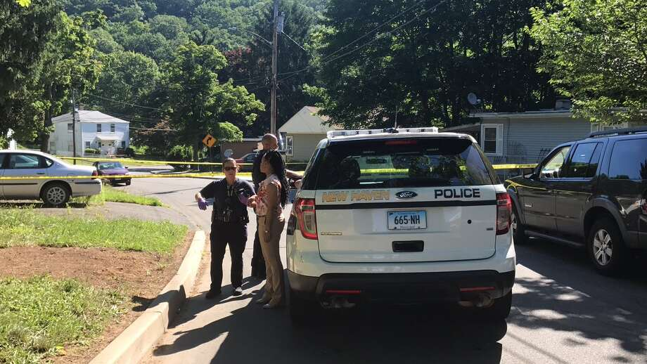 Police are investigating after a woman was found naked on Rock Creek Road on Tuesday, July 10. Photo: Jessica Lerner / New Haven Register