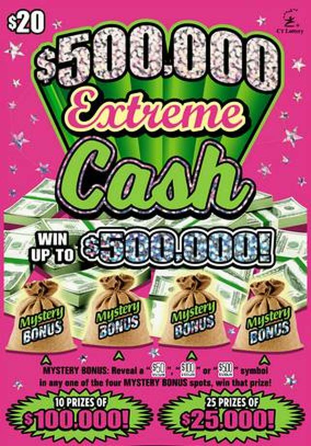 A $500,000 Extreme Cash ticket was the biggest CT Lottery prize won in southwest Connecticut in June. The big winner was Anne Doucette, of Fairfield, who scored $500,000 on a $500,000 Extreme Cash ticket sold at News Express in Fairfield. The game, that started in May, has four top $500,000 prizes. So far, Doucette is the only person to win top amount. Photo: /