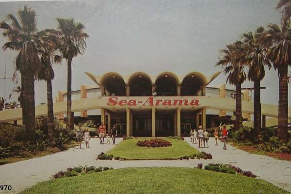 This is how the park looked in May 1970, just five years after it opened.