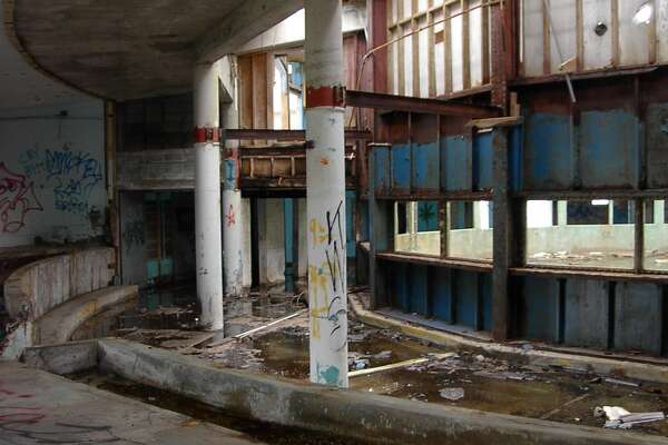 This is how the park looked in 2006, before it was demolished after being deemed a safety hazard.