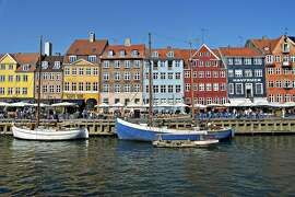 cutline; Copenhagen's Nyhavn is a beautiful enclave for tourists. credit: Fotolia.com