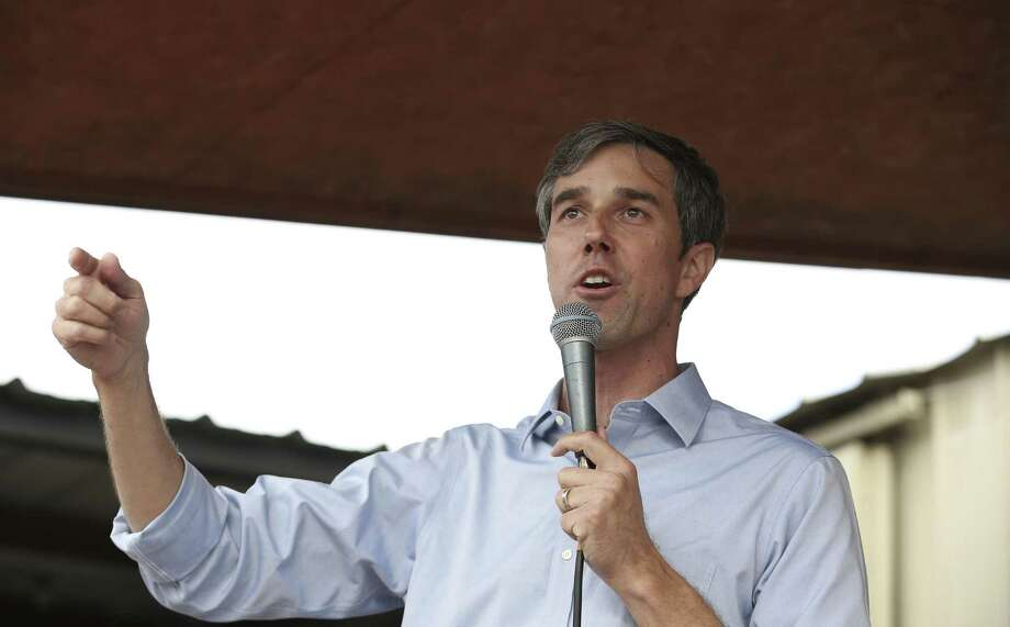 U.S. Congressman Beto O'Rourke, who is challenging U.S. Sen. Ted Cruz's seat in the next election, talks to the public during a rally at No Label Brewery Saturday, Nov. 11, 2017, in Katy. ( Yi-Chin Lee / Houston Chronicle ) Photo: Yi-Chin Lee, Staff / Houston Chronicle / © 2017 Houston Chronicle